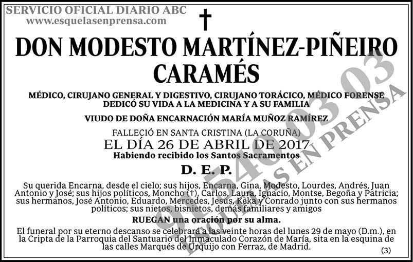 Modesto Martínez-Piñeiro Caramés